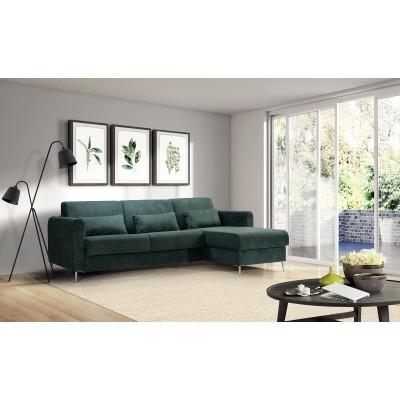 Stella Γωνιακός καναπές κρεβάτι πτυσσόμενος  270x169εκ.