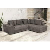 Karina Γωνιακός καναπές κρεβάτι με αποθηκευτικό χώρο & 2 σκαμπό 278x218εκ. Elephant Δεξιά Γωνία