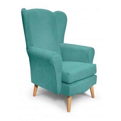 Classic Πολυθρόνα καθιστικού 80x75x114εκ. Μέντα