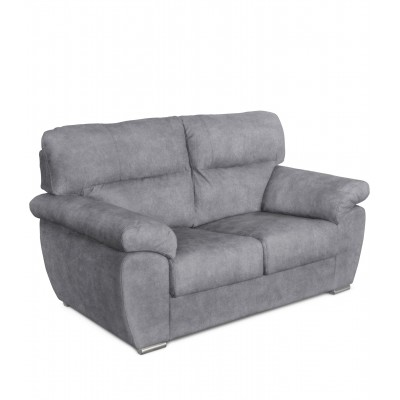 Parma 2θέσιος καναπές 168x94εκ. Γκρι