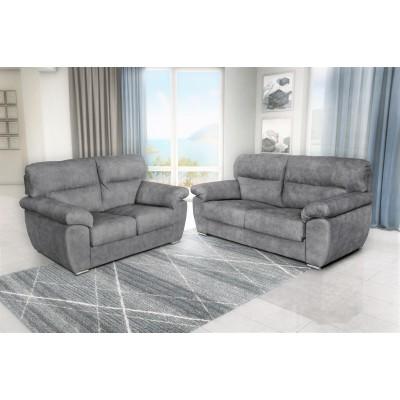Parma σετ 3θέσιος & 2θέσιος καναπές Γκρι