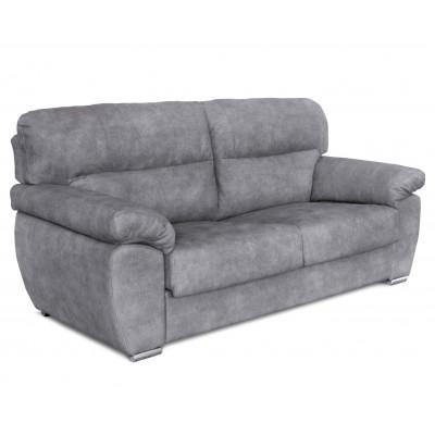 Parma 3θέσιος καναπές 208x94εκ. Γκρι