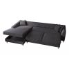 Julie Γωνιακός καναπές κρεβάτι με αποθηκευτικό χώρο 300x195x89εκ. Γκρι ύφασμα Αριστερή γωνία  ΓΩΝΙΑΚΟΙ ΚΑΝΑΠΕΔΕΣ, insidehome.gr