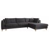 Julie Γωνιακός καναπές κρεβάτι με αποθηκευτικό χώρο 300x195x89εκ. Γκρι ύφασμα Δεξιά γωνία ΓΩΝΙΑΚΟΙ ΚΑΝΑΠΕΔΕΣ, insidehome.gr