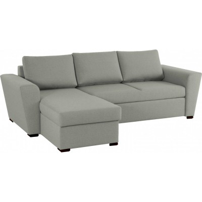 Stanford γωνιακός καναπές κρεβάτι με αποθηκευτικό χώρο 242x160 Γκρι Ανοιχτό