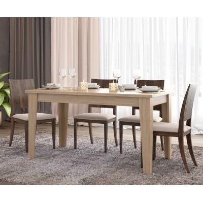 Τραπέζι επεκτεινόμενο 150(180)x90εκ. POL04 Λάττε