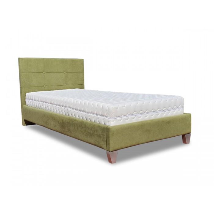 Remy Ντυμένο μονό κρεβάτι & στρώμα 90x200εκ. Candia ΚΡΕΒΑΤΙΑ ΜΕ ΣΤΡΩΜΑ, insidehome.gr
