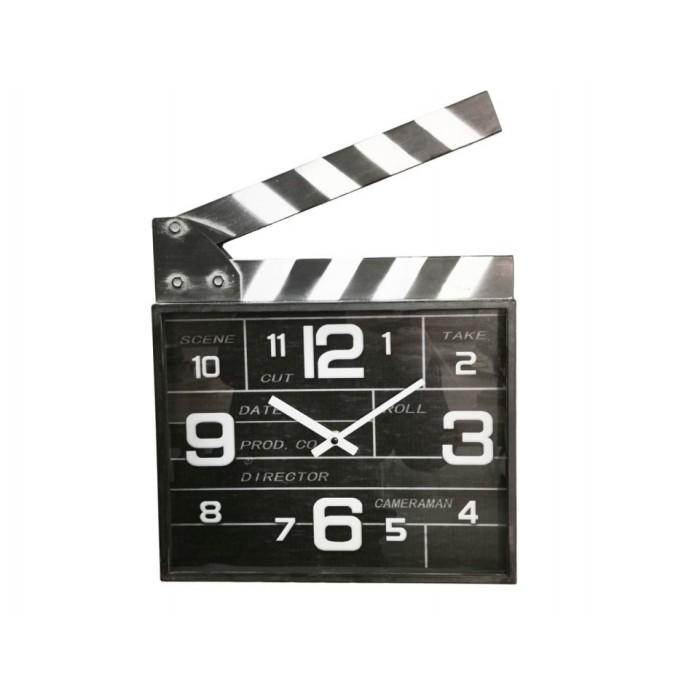CINEMA CLAP CLOCK TEMPO ΡΟΛΟΓΙΑ ΤΟΙΧΟΥ , insidehome.gr