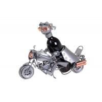 Biker Forgeron 40x13x20εκ. Μεταλλική θήκη μπουκαλιού