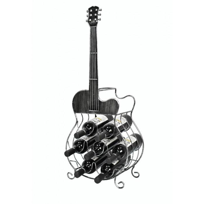 Bottle Holder Guitar Premium 35,50x18,50x80εκ.  ΜΠΟΥΚΑΛΙΕΡΕΣ, insidehome.gr
