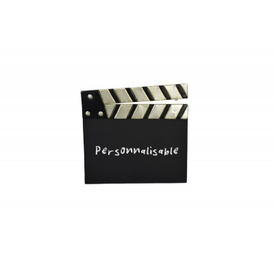 Cinema Clap Personalising Slate 28,50x28εκ. Metal