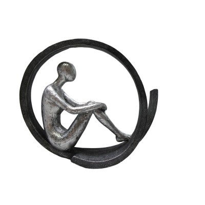 Statue Thinking Position 29,50x9,50x24,50εκ. Story