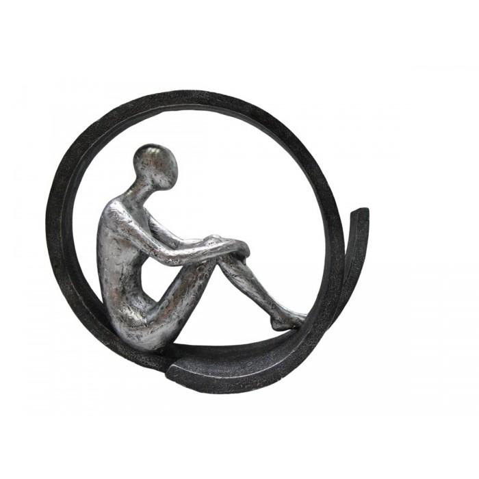 Statue Thinking Position 29,50x9,50x24,50εκ. Story  ΔΙΑΚΟΣΜΗΤΙΚΑ ΕΠΙΤΡΑΠΕΖΙΑ , insidehome.gr