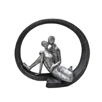 Statue Kissing Couple 28,50x15x24εκ. Story