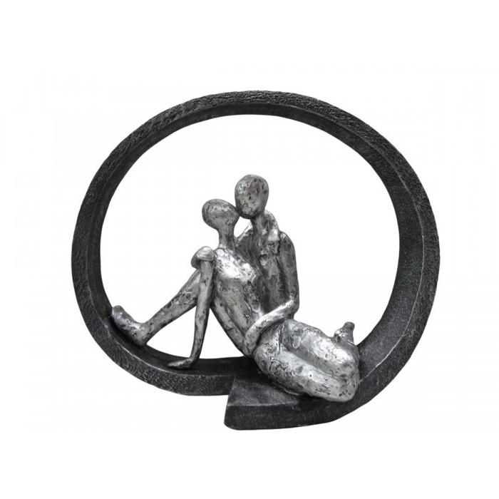 Statue Kissing Couple 28,50x15x24εκ. Story  ΔΙΑΚΟΣΜΗΤΙΚΑ ΕΠΙΤΡΑΠΕΖΙΑ , insidehome.gr
