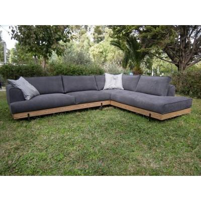 Cocoon Γωνιακός καναπές 300x230εκ.