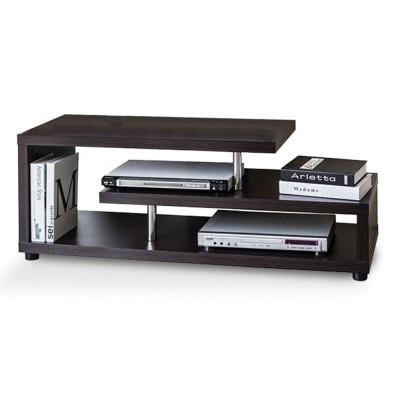 SWIVEL TV STAND WENGE 120x38xH44cm
