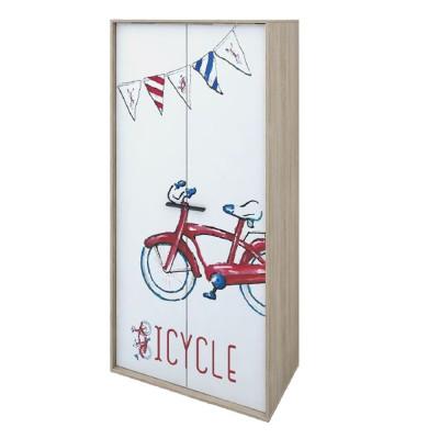 BICYCLE ΝΤΟΥΛΑΠΑ SONOMA ΜΕ PATTERN 90x50xH190cm