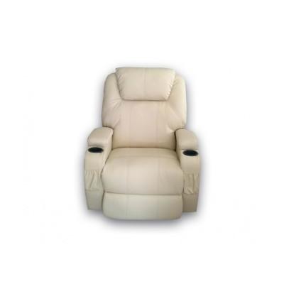 Πολυθρονες Relax - Πολυθρονα Relax-massage κουνιστή θερμαινόμενη με περιστροφή JOEY AR28 Μπεζ RELAX MASSAGE, επιπλα - insidehome.gr