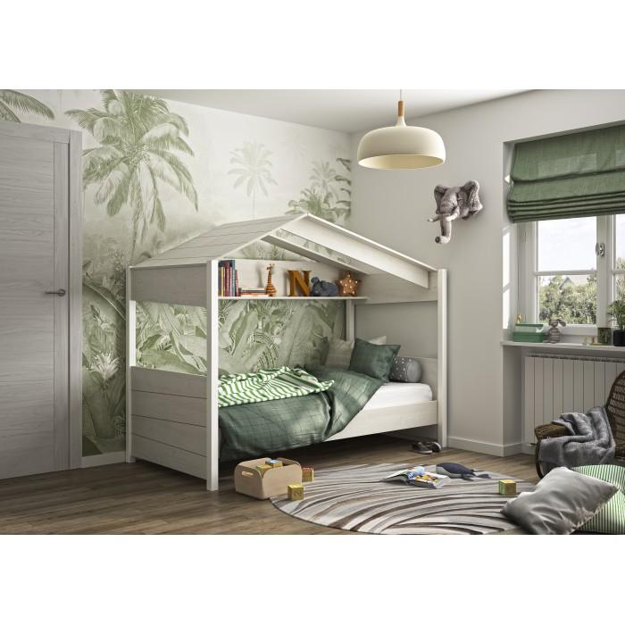 """Nairobi Παιδικό Κρεβάτι """"Καλύβα""""  90x200εκ.  ΠΑΙΔΙΚΑ ΚΡΕΒΑΤΙΑ , insidehome.gr"""