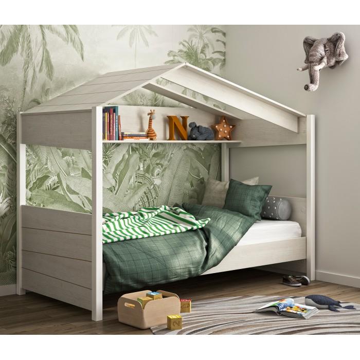 "Nairobi Παιδικό Κρεβάτι ""Καλύβα"" με στρώμα 90x200εκ. Perfect της Candia"