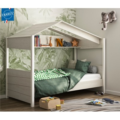 "Nairobi Παιδικό Κρεβάτι ""Καλύβα""  105x207εκ. (για στρώμα 90x200εκ. )"