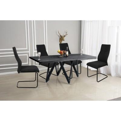 Σετ τραπέζι με 4 καρέκλες HL05 Γκρι
