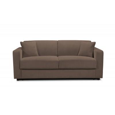 Καναπές κρεβάτι πτυσσσόμενος 199X100εκ. IM55 CONNIE Καφέ  ΚΑΝΑΠΕΔΕΣ ΚΡΕΒΑΤΙ, επιπλα - insidehome.gr