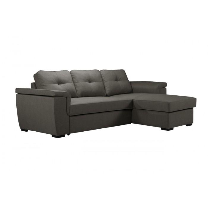 Cayenne Γωνιακός καναπές κρεβάτι 249x160εκ. με αποθηκευτικό χώρο Γκρι ΓΩΝΙΑΚΟΙ ΚΑΝΑΠΕΔΕΣ, insidehome.gr