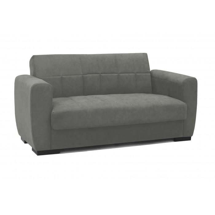 Καναπές κρεβάτι διθέσιος SUDOKU MZ04 Γκρι ΚΑΝΑΠΕΔΕΣ ΚΡΕΒΑΤΙ, επιπλα - insidehome.gr
