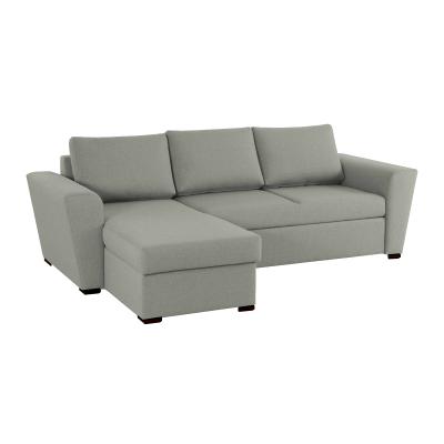Γωνιακός καναπές κρεβάτι με αποθηκευτικό χώρο 242x160 STANFORD NV01Γκρι Ανοιχτό  ΓΩΝΙΑΚΟΙ ΚΑΝΑΠΕΔΕΣ, insidehome.gr