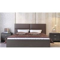 Κρεβάτι ξύλινο διπλό POL06 160χ200εκ. Βέγγε