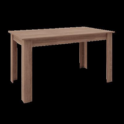 Τραπέζι ξύλινο 120x70εκ. BELLO POL22 Μόκα
