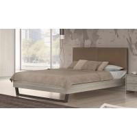 Κρεβάτι διπλό POL07 Olive-Taupe 164x208εκ. ( για στρώμα 150x200εκ. )
