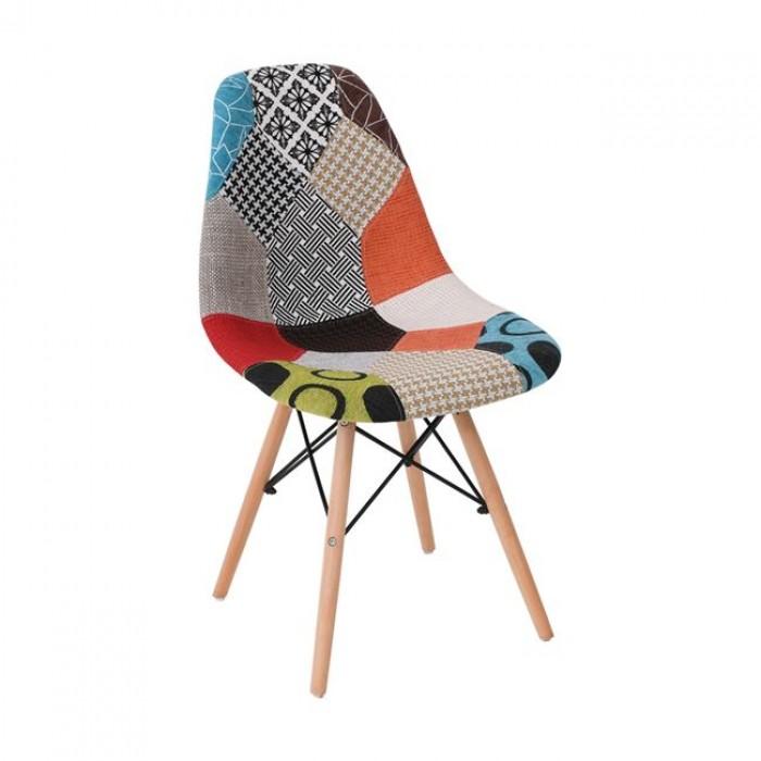 Καρέκλα Μοντέρνα WWM123F ΜΕΤΑΛΛΙΚΕΣ, επιπλα - insidehome.gr
