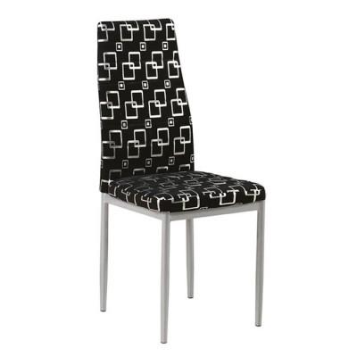 Καρέκλα μεταλλική με ύφασμα DECO