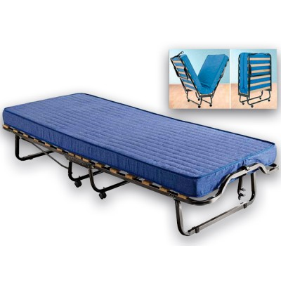 Πτυσσόμενο κρεβάτι - Ντιβάνι Σπαστό Ράντζο 90χ200εκ. LUXOR ΜΕΤΑΛΛΙΚΑ ΚΡΕΒΑΤΙΑ, επιπλα - insidehome.gr