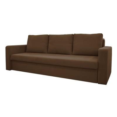Καναπές κρεβάτι με αποθηκευτικό χώρο 227X88εκ. VENUS Καφέ
