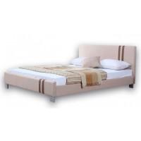 Ντυμένο διπλό κρεβάτι 150X200εκ. JN 177 Μπεζ