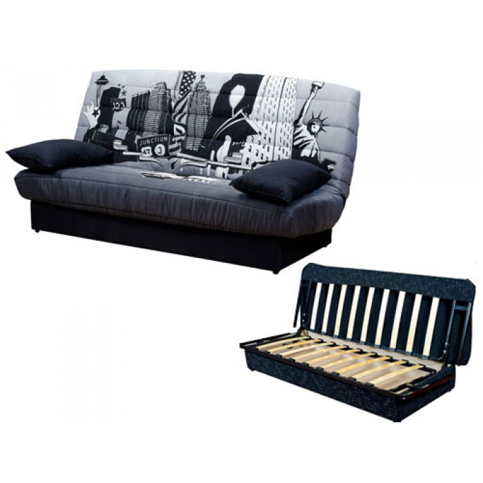 Καναπές κρεβάτι 180x88/120εκ. με αποθηκευτικό χώρο NEW YORK  IM01 ΚΑΝΑΠΕΔΕΣ ΚΡΕΒΑΤΙ, επιπλα - insidehome.gr