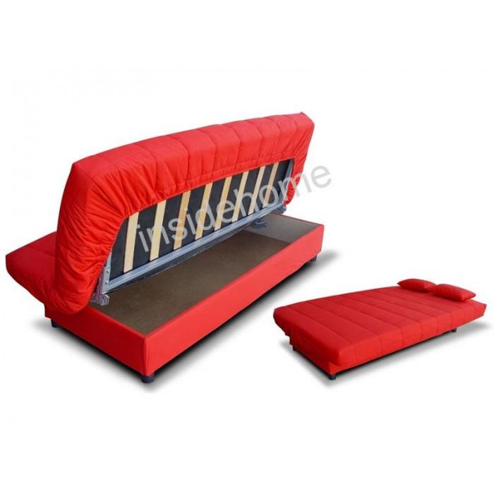 Καναπές κρεβάτι 180x88/120εκ. με αποθηκευτικο χώρο ROUGE ΚΑΝΑΠΕΔΕΣ ΚΡΕΒΑΤΙ, επιπλα - insidehome.gr