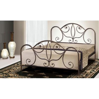 Μεταλλικό διπλό κρεβάτι N51 150χ20εκ.