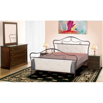 Μεταλλικό διπλό κρεβάτι N52