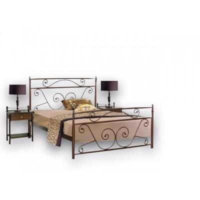 Μεταλλικό διπλό κρεβάτι N59