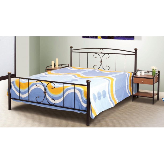 Μεταλλικό διπλό κρεβάτι N24 ΜΕΤΑΛΛΙΚΑ ΚΡΕΒΑΤΙΑ, επιπλα - insidehome.gr