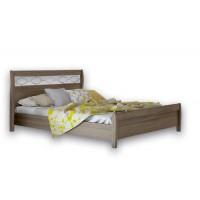 Κρεβάτι ξύλινο POL 27 150χ200εκ.