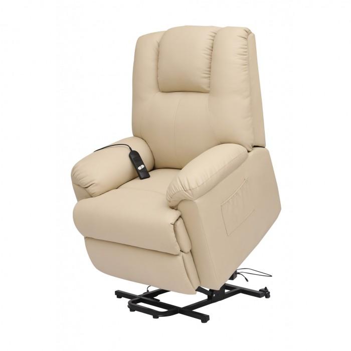 Πολυθρονες Relax - Πολυθρονα Relax-Massage θερμαινόμενη με ηλεκτρική ανάκλιση AR17 Μπεζ RELAX MASSAGE, επιπλα - insidehome.gr