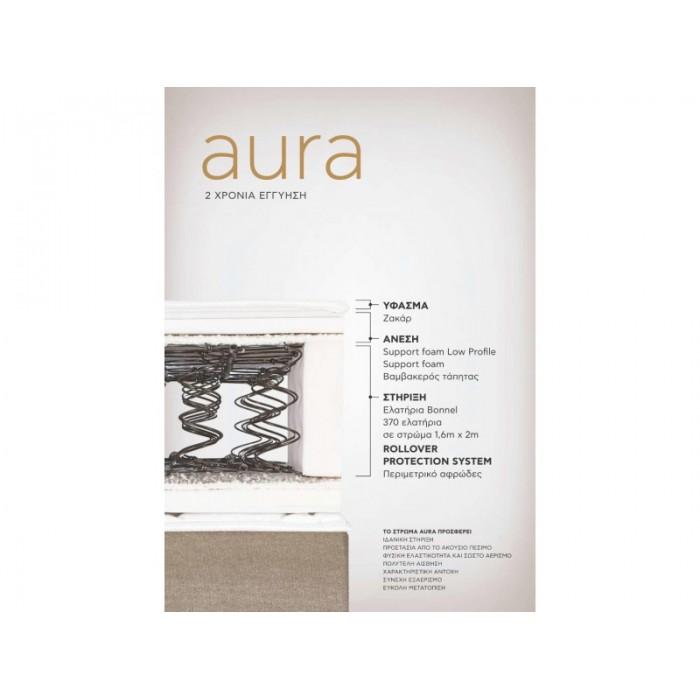 Στρώμα AURA CANDIA STROM ΟΡΘΟΠΕΔΙΚΑ ΣΤΡΩΜΑΤΑ , επιπλα - insidehome.gr