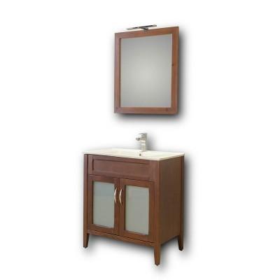 Σετ Έπιπλο Μπάνιο ARETOUSA BROWN 75