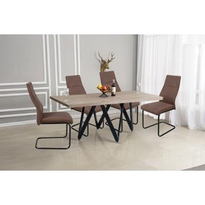 Σετ τραπέζι με 4 καρέκλες HL05 Sonoma
